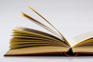 imagem de livro aberto para ilustrar biblioteca. Reprodução