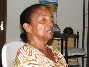Foto da professora Francisca, uma das referências em educação na Amazônia