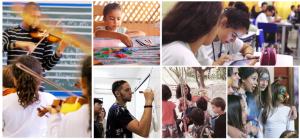 imagem mostra fotos dos episódios do documentário janelas de inovação