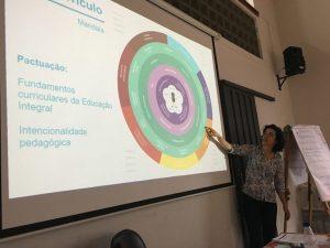 Educadores são apresentados à mandala do sujeito Crédito: Victor Narezi