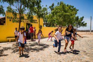 Alunos da Escola Massilon Saboia, em Sobral (CE). A cidade, localizada no interior do estado, é pontada como sensação por causa dos bons resultados no Ideb (Índice de Desenvolvimento da Educação Básica)Eduardo Anizelli - 6.nov.2015/Folhapress